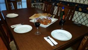 Gnocchi Set Table