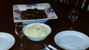 Short Ribs Dinner