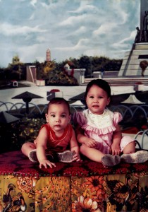 Michele and Richard Cosper as babies