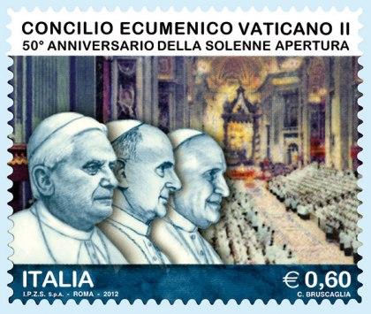 Francobollo Concilio Vaticano II