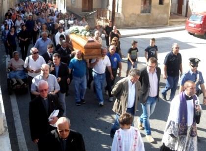 Funerali Don Agostino Giovinazzo