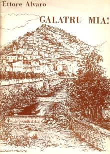 """Copertina del libro """"Galatru Mia"""" di Ettore Alvaro"""