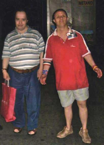 Antonio Albanese e Pino Sorrentino