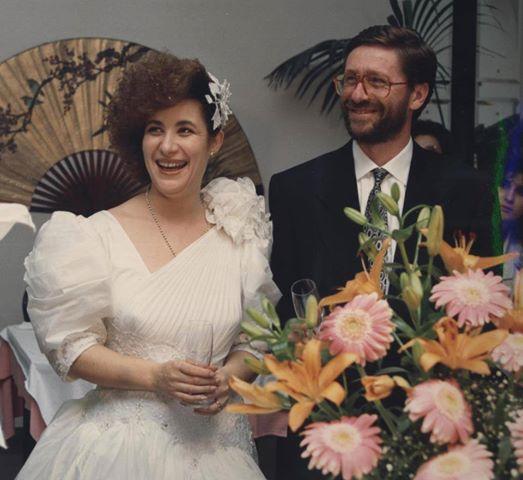 1990 - Carmelina Massara e Michele Scozzarra .