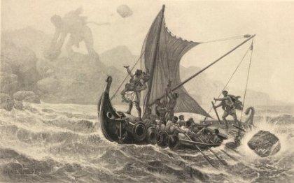 Ulisse Sfugge alle ire di Polifemo