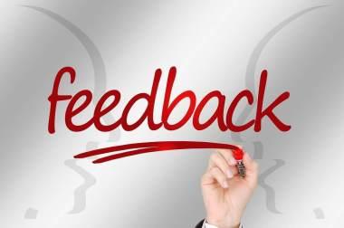 Ascolta i feedback dagli altri e utilizzali a tuo vantaggio.