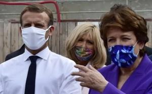 Emmanuel Macron et Roselyne Bachelot - Copyright AFP - Georges Gobet