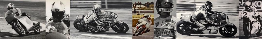 depuis 1972 jusqu'en 1985 de 18 à 31 ans - Championnats du monde Motos + moto Journal 200 - Copyright photos MH - www.michelhugues.com