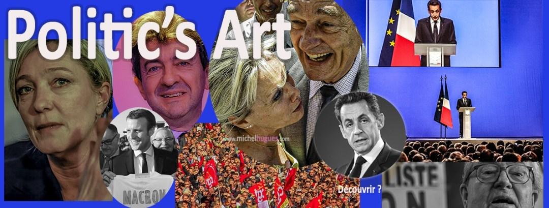 Politic's Art dans le monde fou des campagnes électorales - Copyright Photos MH - www.michelhugues.com