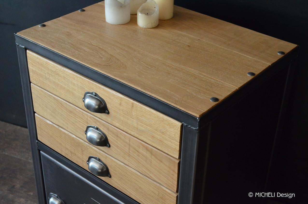 petit meuble de rangement industriel 3