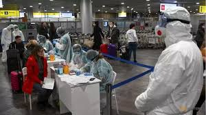 Moscow Medical Personel in Hazmat Suits
