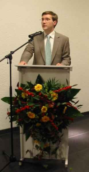 Monsieur Sven SCHAUL, Président de la Commission des Affaires Culturelles de la Commune de Dippach