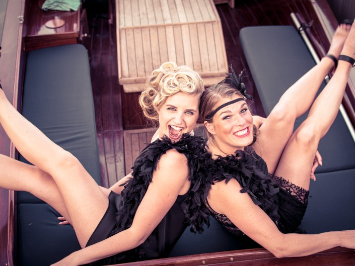 Daisy & Ramona in the Roaring 20's