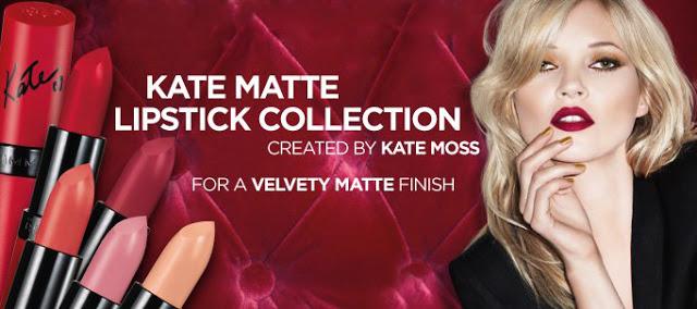 Coming Soon: @RimmelLondonUS x Kate Moss Matte Lipsticks