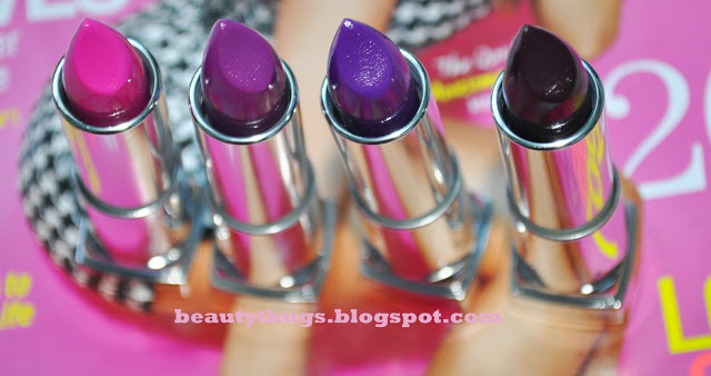 Swatched: @Maybelline Limited Edition Fall 2013 Color Sensationel Lipsticks