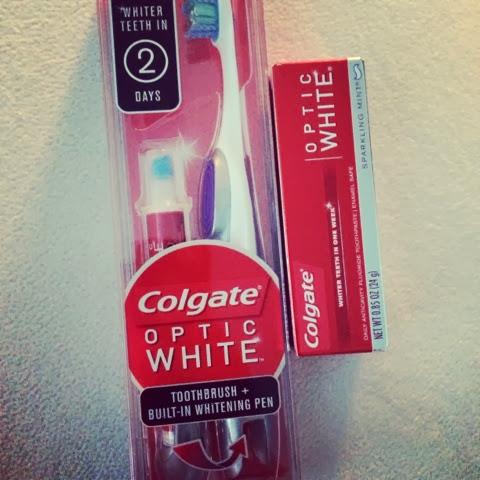 Brush Whiten Go With Colgate Optic White Michelle Amanda
