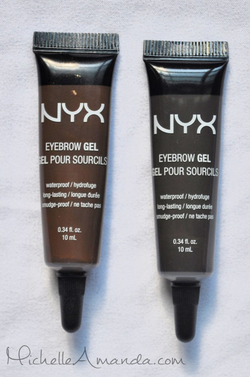 Review: NYX Brow Gel in Espresso & Black