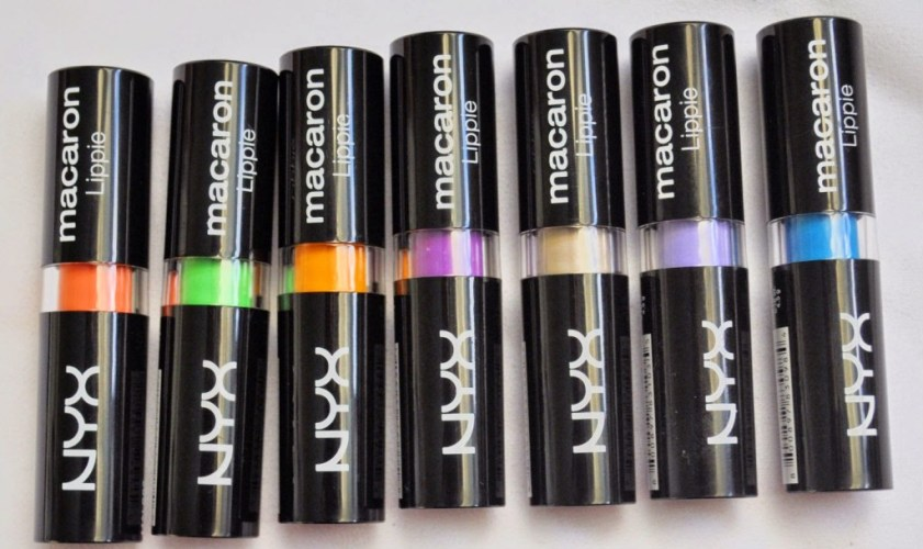 Over the Rainbow: NYX Macaron Lipsticks