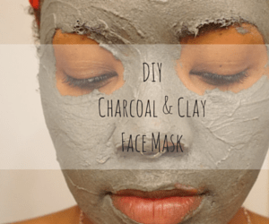 DIY: Charcoal & Clay Face Mask