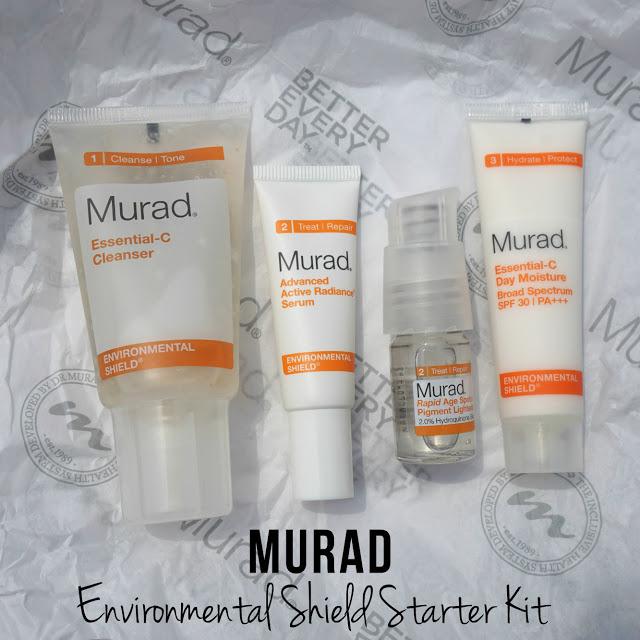 Murad Essential C Cleanser, Serum, Moisturizer