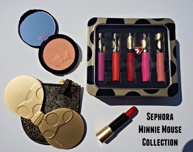 Swatched: Sephora x Disney Minnie Mouse Collection