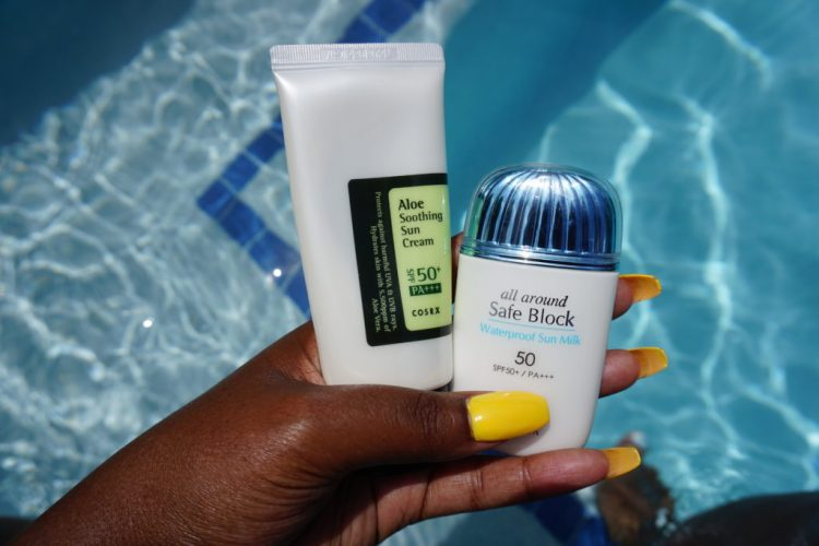 Trying K-beauty Sunscreens Because Black Girls Need Sun Protection Too