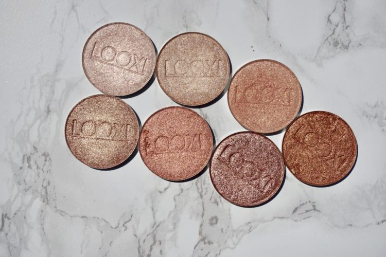 Swatched: Looxi Beauty Highlighters