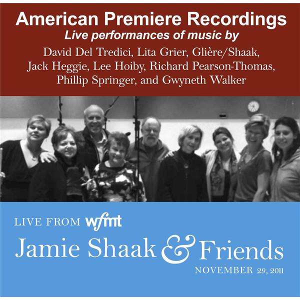 Jamie Shaak and Friends Album Art