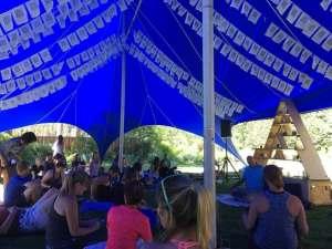 Wanderlust Festival meditation