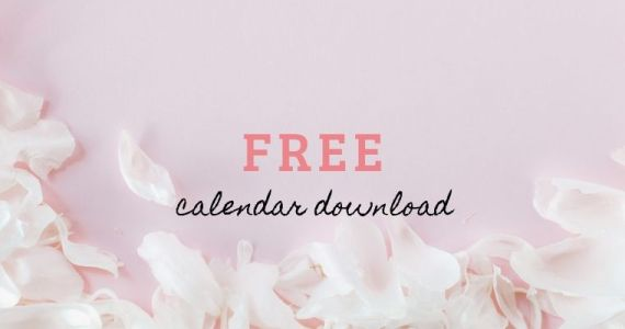 Free Calendar Download June