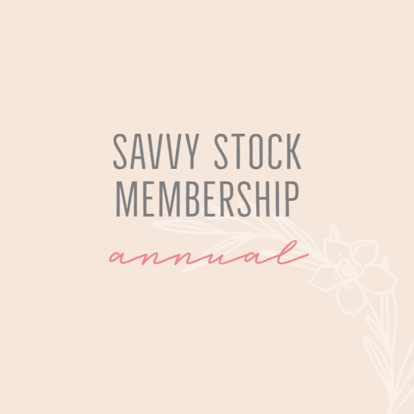Savvy Stock Membership - Stock Photo Library