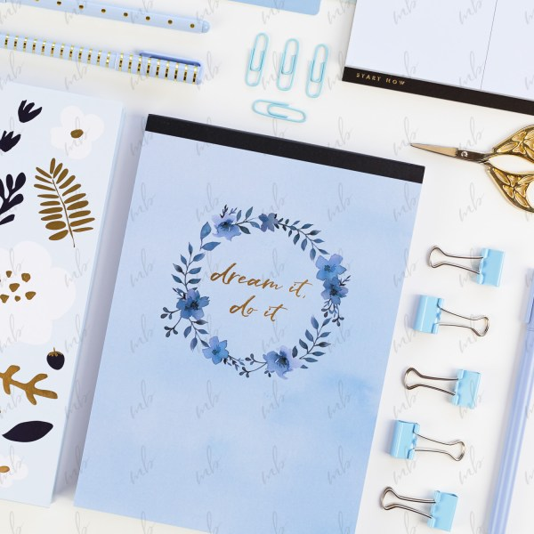 Light Blue Styled Stock Photo Collection