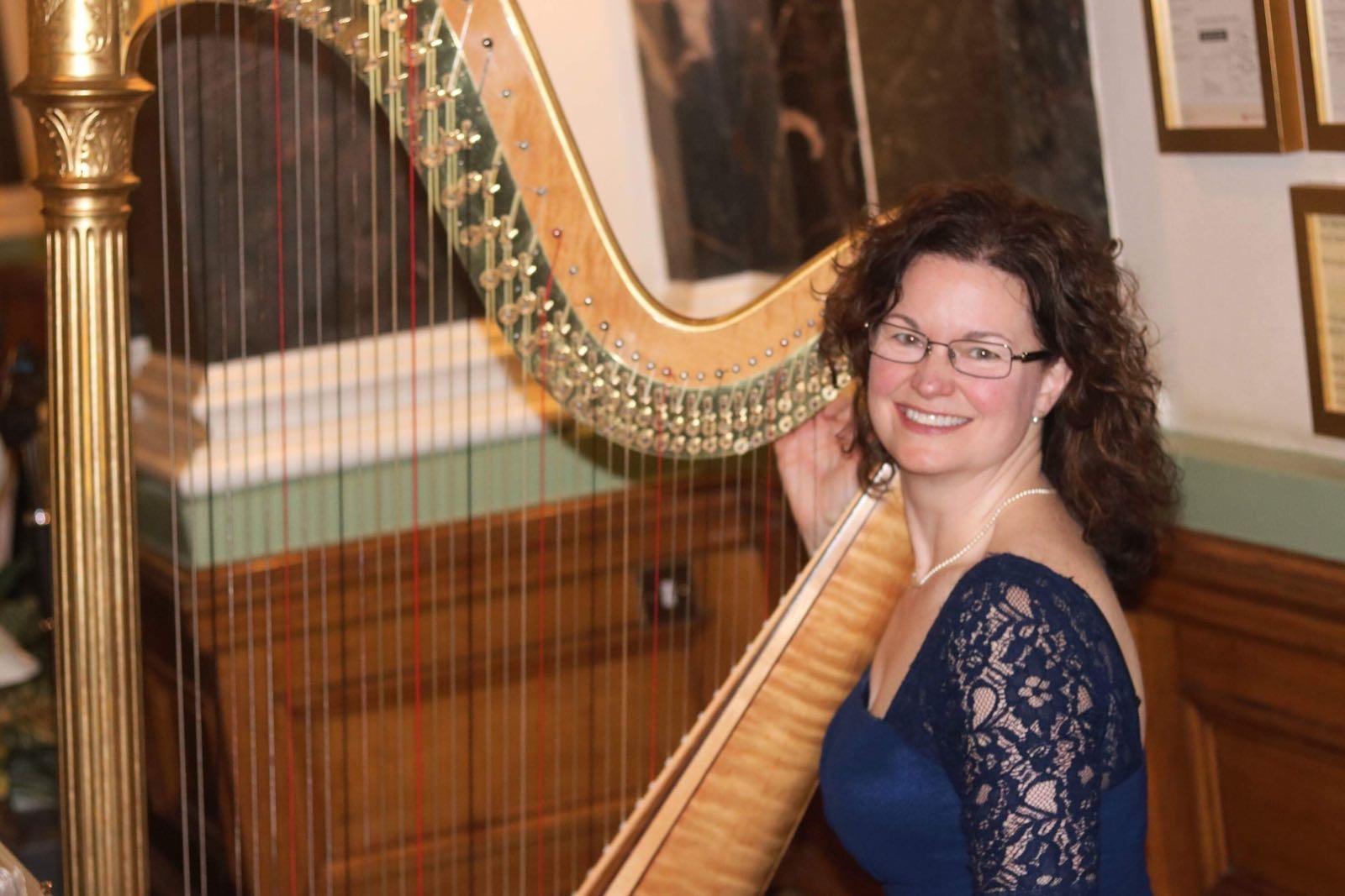Birmingham harp player