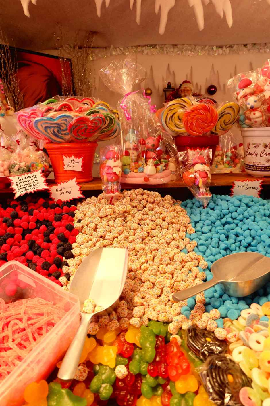 candies in montreux