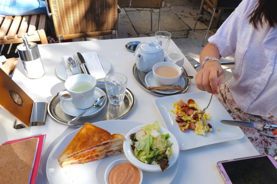 Brunch in Cafe Bazar Salzburg