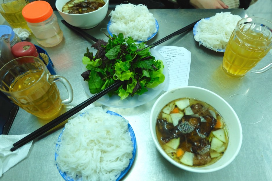 Bun Cha for breakfast