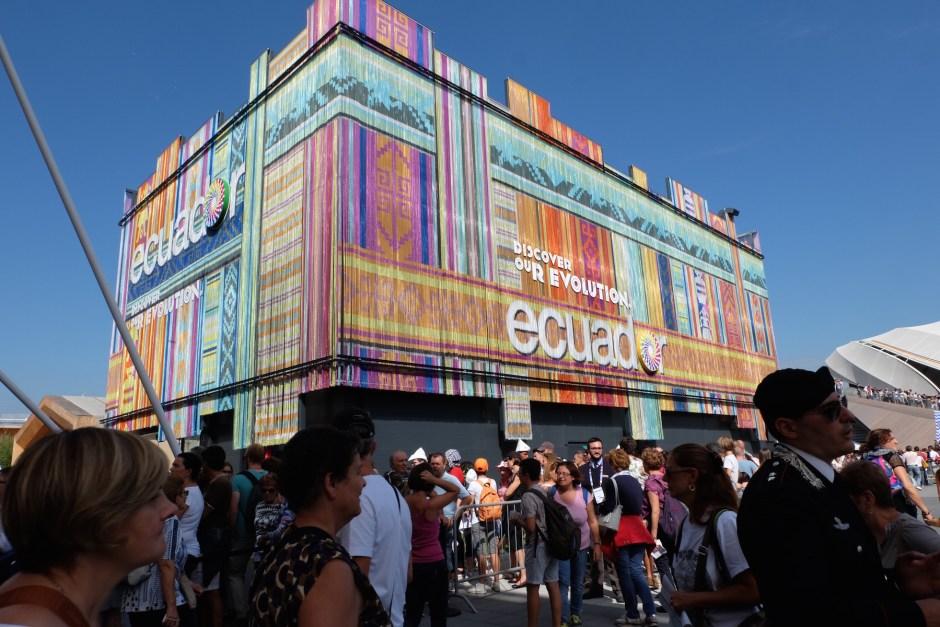 Ecuador pavilion expo milano 2015