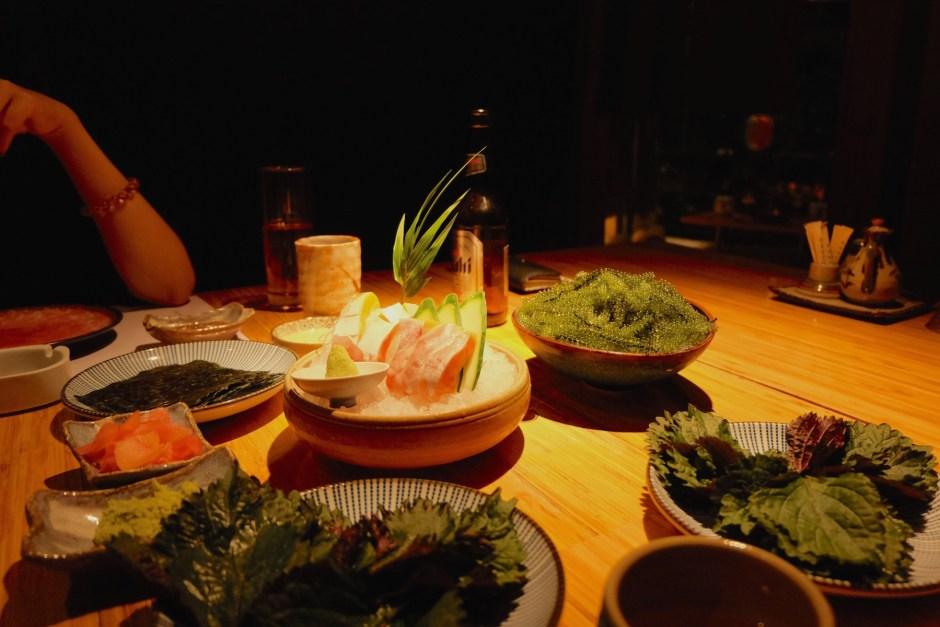 Kimono restaurant Hanoi
