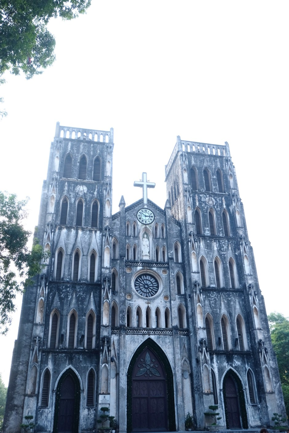 Old cathedral in Hanoi