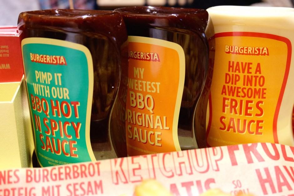 Sauces of Burgerista
