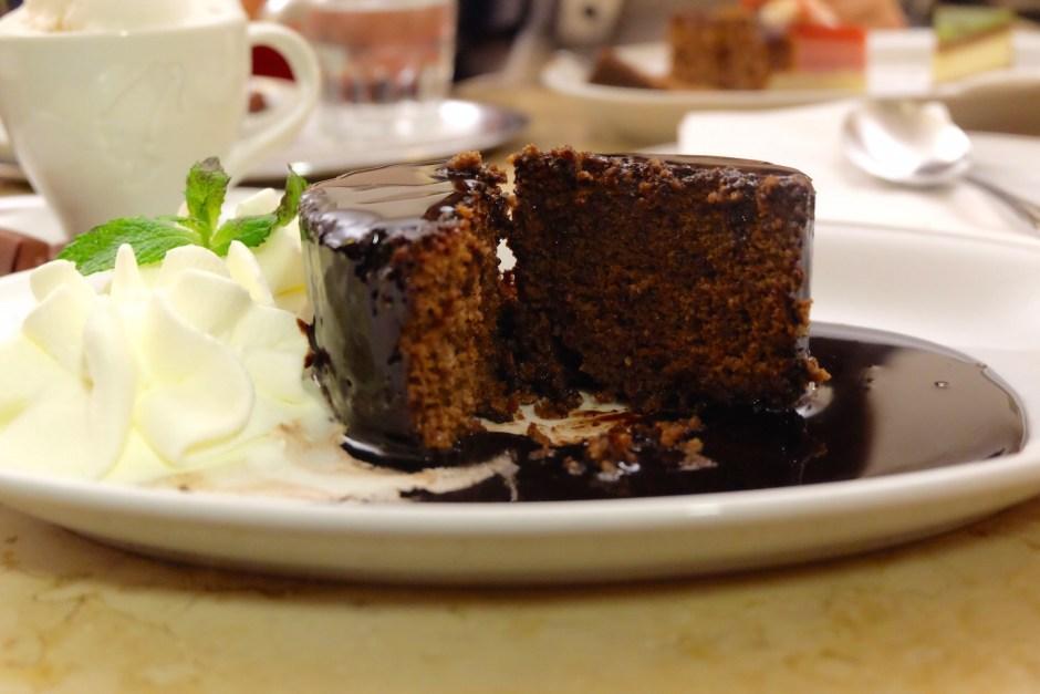 Schokolade Mandel Souffle