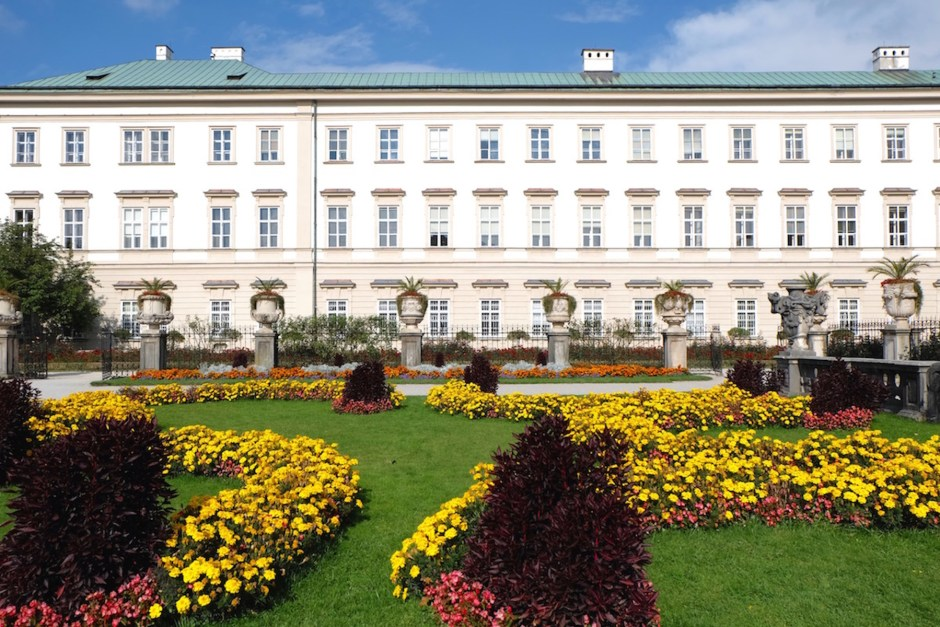mirabell garden and palace
