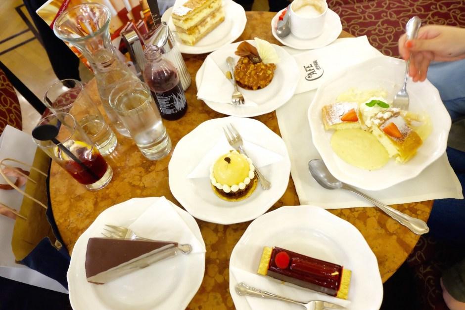 Cafe Central Desserts