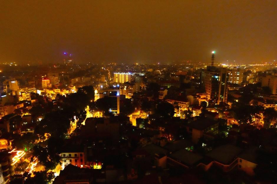 Hanoi Rooftop View