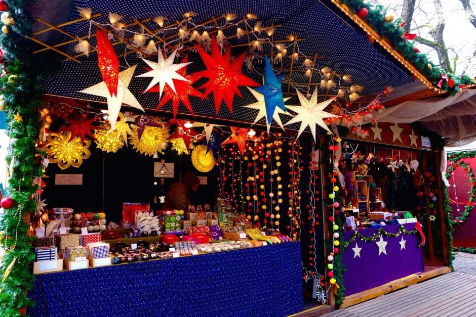 Lamp Shop in Basel Christmas Market