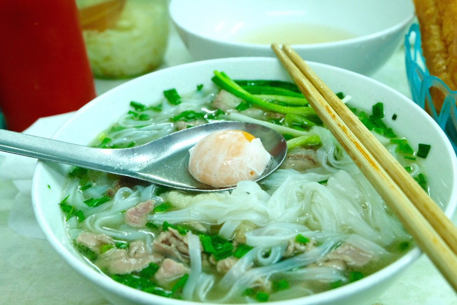 Pho and egg