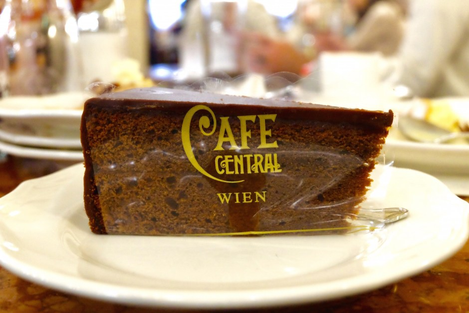 Sacher Torte Cafe Central