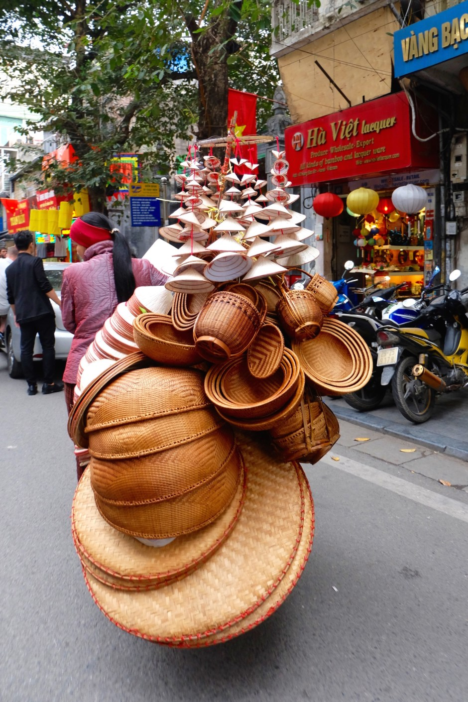Vendor in Hanoi Street