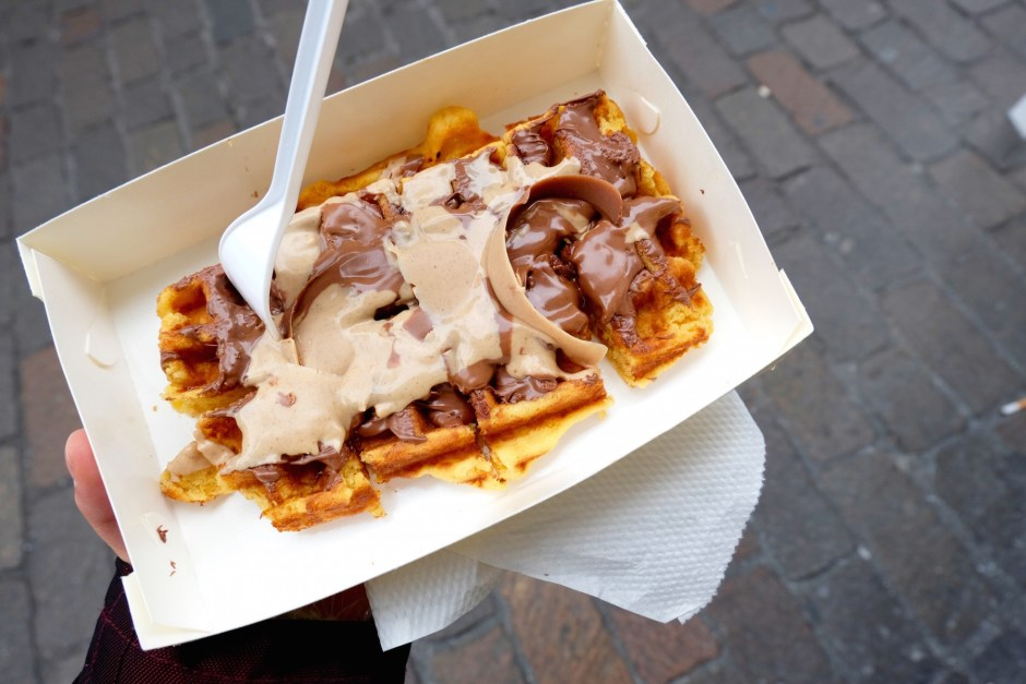 Waffle from Choco Kebab