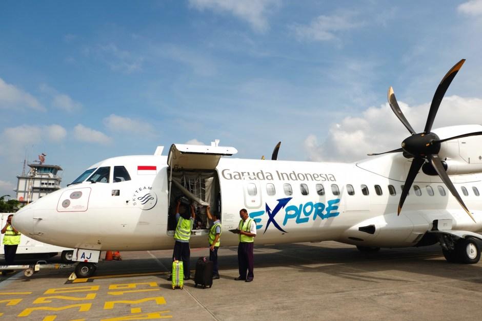 Garuda Indonesia Explore Plane